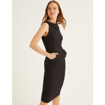 Seam Detail Martha Dress Black Women Boden, Black