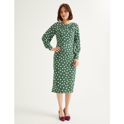 Portia Dress Green Women Boden, Green