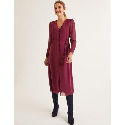 Hazel Midi Dress Purple Women Boden, Purple