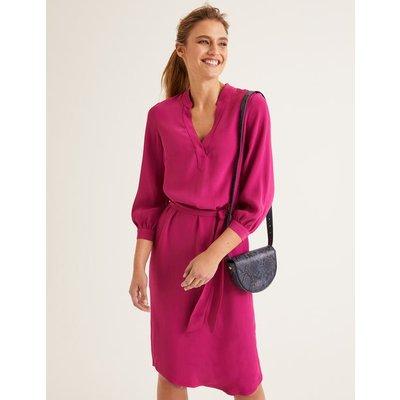 Florence Dress Purple Women Boden, Purple