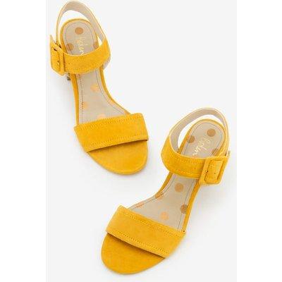 Margot Heeled Sandals Yellow Women Boden, Yellow