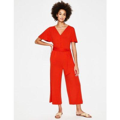 Ella Jersey Jumpsuit Red Women Boden, Red