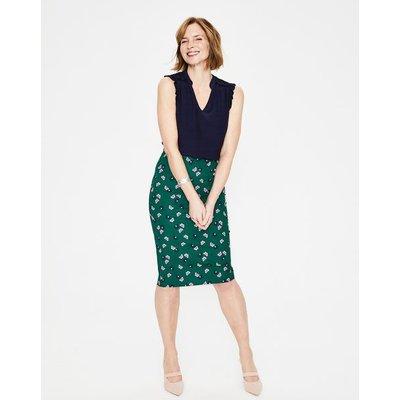 Richmond Pencil Skirt Green Women Boden, Green