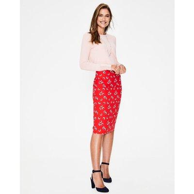 Richmond Pencil Skirt Red Women Boden, Red