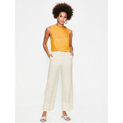 Hambledon Trousers Ivory Women Boden, Ivory