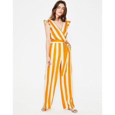 Mila Jumpsuit Yellow Women Boden, Ivory