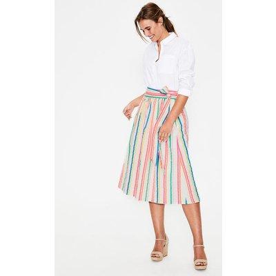 Cathy Midi Skirt Multi Women Boden, Multicouloured