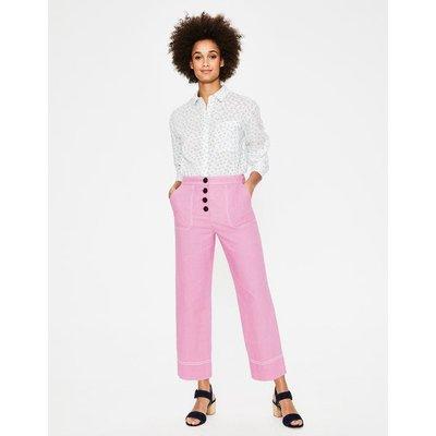 Wadebridge Trousers Purple Women Boden, Purple