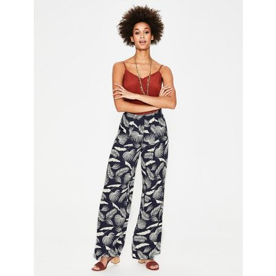 Padstow Trousers Navy Women Boden, Navy