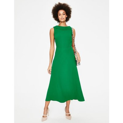 Clarissa Midi Dress Green Women Boden, Green