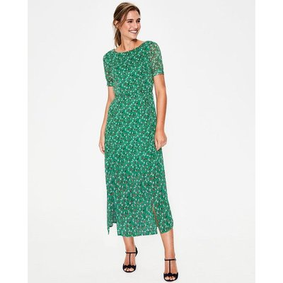 Jane Midi Dress Green Women Boden, Green