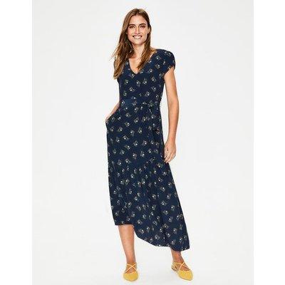 Amy Midi Dress Navy Women Boden, Navy
