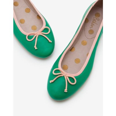 Ballerinas Green Women Boden, Green
