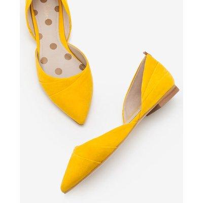 Henrietta Flats Yellow Women Boden, Yellow