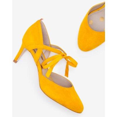 Lavinia Mid Heels Yellow Women Boden, Yellow