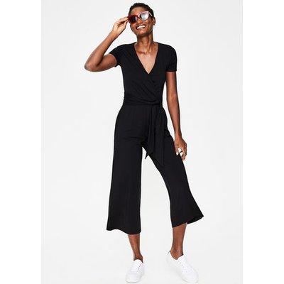 Ellen Jersey Jumpsuit Black Women Boden, Black