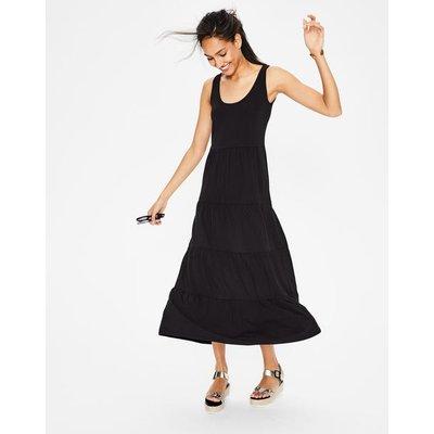 Maya Jersey Maxi Dress Black Women Boden, Black