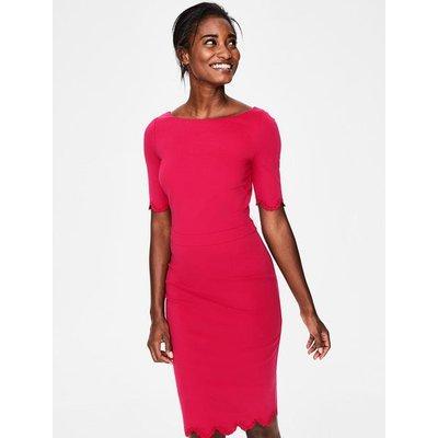 Emma Ponte Dress Pink Women Boden, Pink
