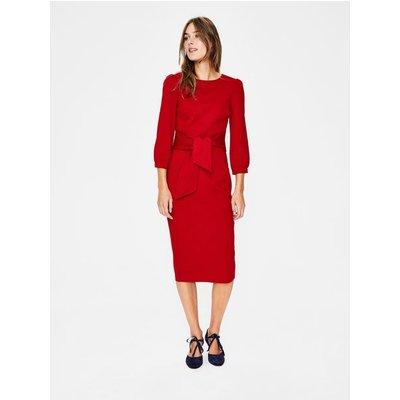 Josephine Ponte Dress Red Women Boden, Red
