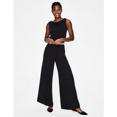 Clarissa Jumpsuit Black Women Boden, Black