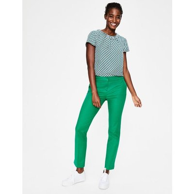 Richmond 7/8 Trousers Green Women Boden, Green
