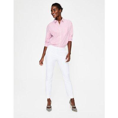 Richmond 7/8 Trousers White Women Boden, White