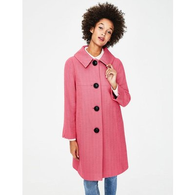 Vintage Swing Coat Pink Women Boden, Pink
