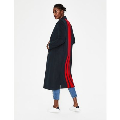 Ashridge Colourblock Coat Navy Women Boden, Navy