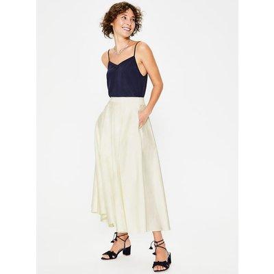 Delilah Midi Skirt Ivory Women Boden, Ivory