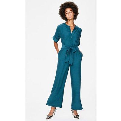 Emmeline Jumpsuit Blue Women Boden, Blue