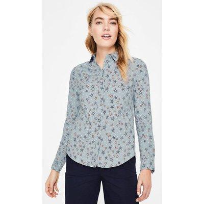 Modern Classic Shirt Grey Women Boden, Grey