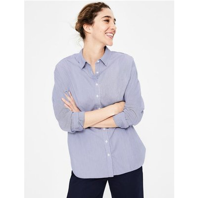 Maria Relaxed Shirt Blue Women Boden, Multicouloured