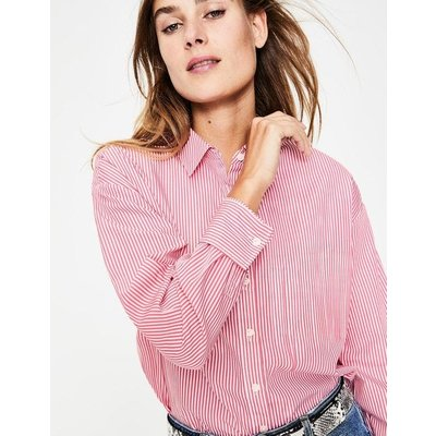 Maria Relaxed Shirt Pink Women Boden, Multicouloured