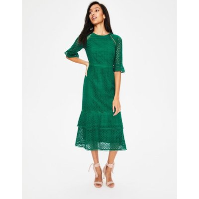 Lana Lace Midi Dress Green Women Boden, Green