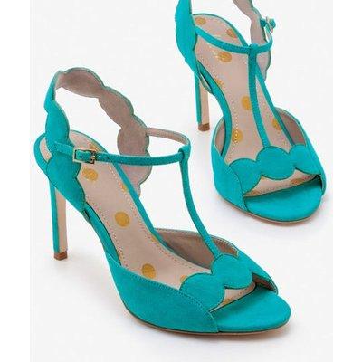 Cecile Heels Blue Women Boden, Blue