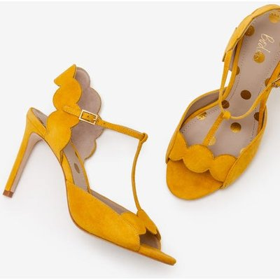 Cecile Heels Yellow Women Boden, Yellow