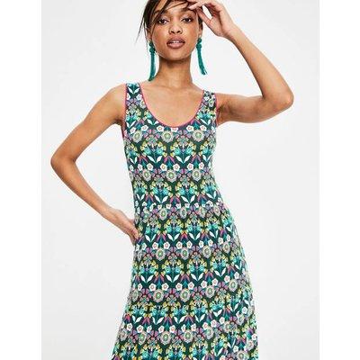 Maya Jersey Maxi Dress Green Women Boden, Gold