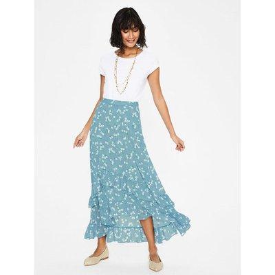 Coraline Midi Skirt Blue Women Boden, Blue