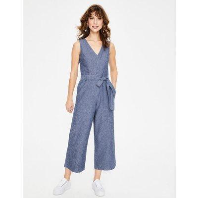 Verity Jumpsuit Blue Women Boden, Blue