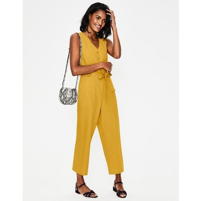 Verity Jumpsuit Yellow Women Boden, Yellow
