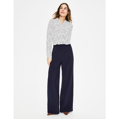 Tiverton Trousers Navy Women Boden, Navy