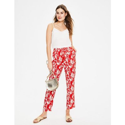 Bembridge Trousers Red Women Boden, Red