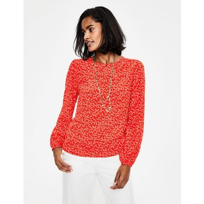 Veronica Blouse Red Women Boden, Red