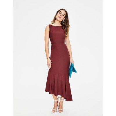 Tessa Midi Dress Brown Women Boden, Brown