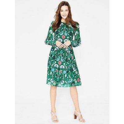 Blossom Dress Green Women Boden, Green