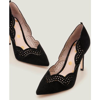 Esme Heels Black Women Boden, Black