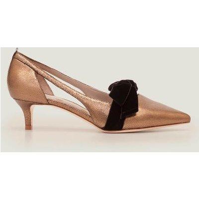 Robyn Kitten Heels Gold Women Boden, Gold