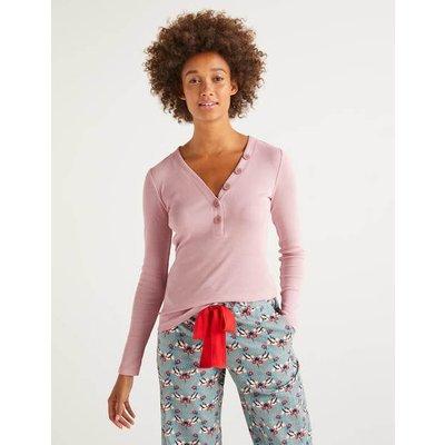 Ida Jersey Top Pink Women Boden, Pink