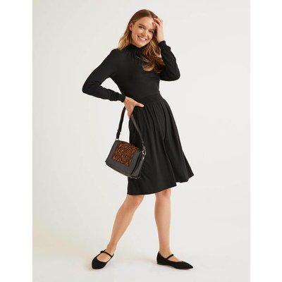 Alice Jersey Dress Black Women Boden, Black