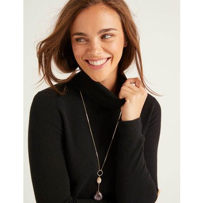 Cashmere Roll Neck Black Women Boden, Black